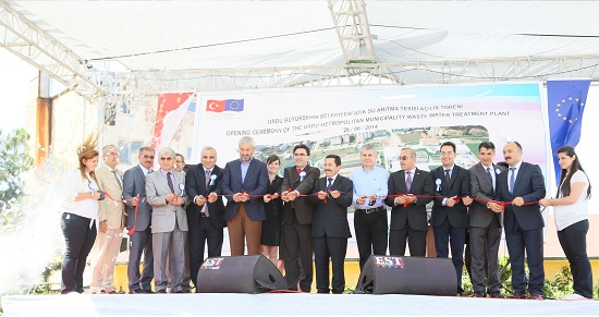 Opening Ceremony of the WWTP