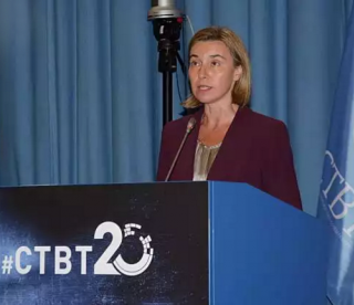 VStatement delivered on behalf of the European Union by High Representative/Vice-President Federica Mogherini at the Tenth Article XIV Conference in support of the Entry-into-Force of the CTBT