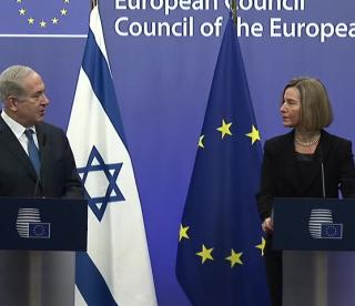 Remarks by HR/VP Federica Mogherini with Prime Minister of Israel Benjamin Netanyahu