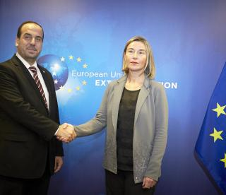 Federica Mogherini met with the delegation of the Syrian Negotiation Commission