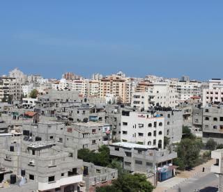 a view of Gaza
