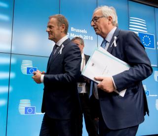 Donald Tusk and Jean-Claude Juncker