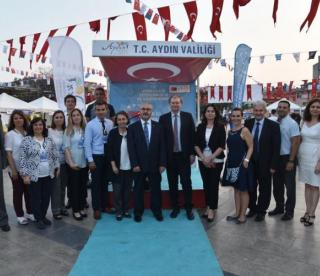 Ambassador Berger visits the EU project fair in Aydın