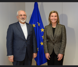 VP Mogherini and Pt Rouhani
