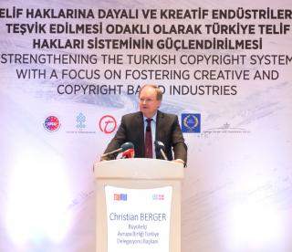 EU Supports Better Protection Of Copyrights In Turkey