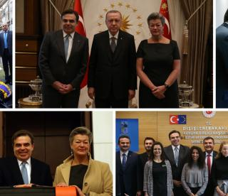 Statement by Vice-President Schinas and Commissioner Johansson Following Their Visit to Ankara, Turkey