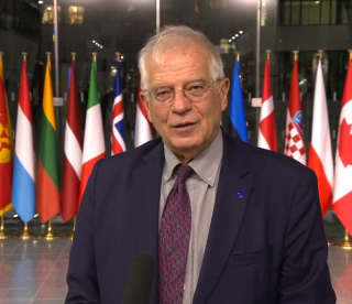 NATO : Remarks by the High Representative/Vice-President Josep Borrell upon arrival at the defence ministerial meeting