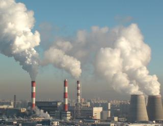 Improving air quality near combustion plants