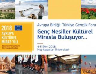 "EU Hosts ""Youth for Culture"" Forum in Muş"
