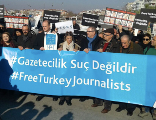 Campaign to decriminalise Turkish Journalism, for free speech and protecting workplace rights