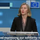 Federica Mogherini in Brussels on march 20 2018