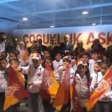 Syrian and Turkish Children Enjoy a Football Event Hosted by Galatasaray