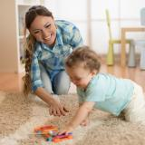 Supporting women employment through home based child care