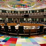 plenary room of the European Council