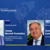 United Nations: Phone call between HR/VP Josep Borrell and Secretary-General António Guterres