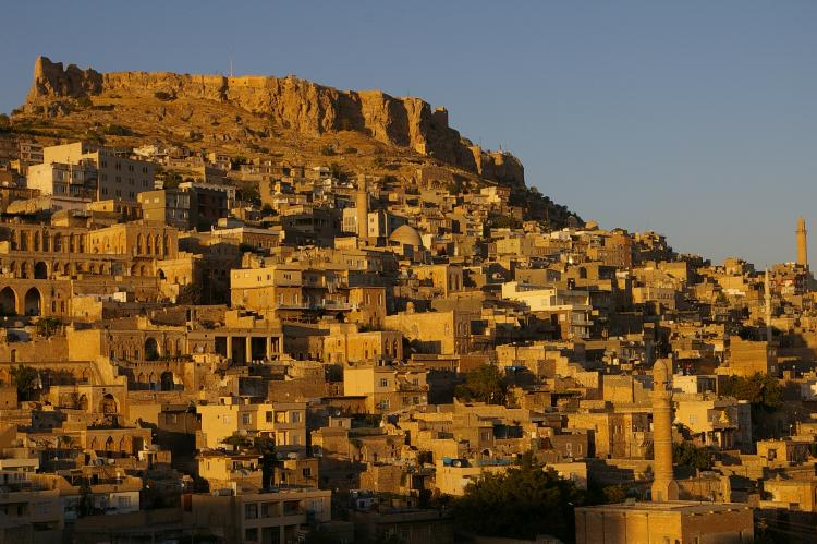 The city of Mardin in Turkey