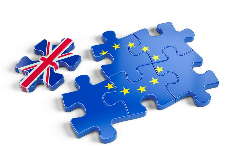 the uk puzzle piece is seperating from EU puzzle