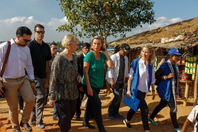 Remarks by High Representative/Vice-President Federica Mogherini to the press while at Rohingya refugee camps in Cox's Bazar, Bangladesh