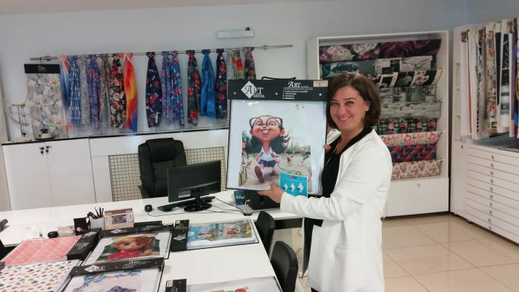 Women know how to succeed: Zeliha's business in textile