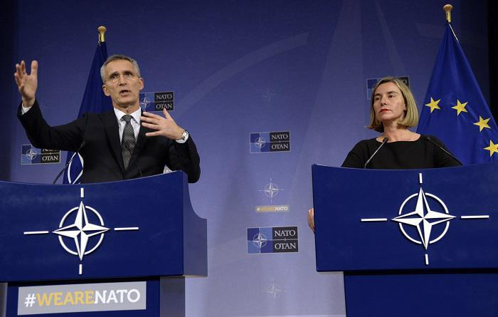 NATO, EU, foreign policy, security, defence, EEAS, Mogherini, Stoltenberg