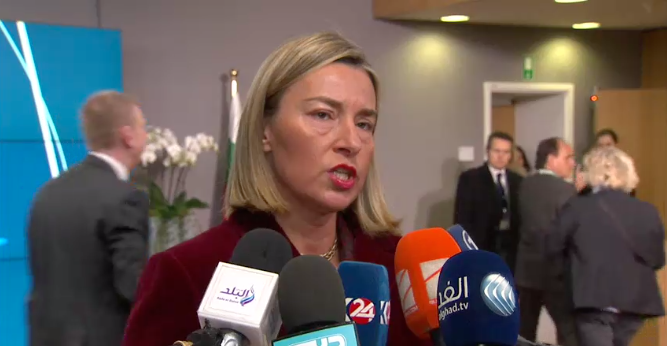 Remarks by HR/VP Mogherini upon arrival to the Foreign Affairs Council