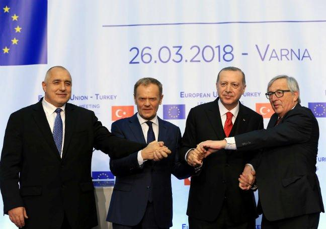 Remarks by President Donald Tusk following the EU-Turkey leaders' meeting in Varna