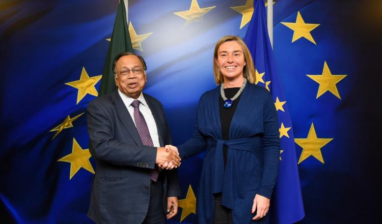 Federica Mogherini met with Minister for Foreign Affairs of Bangladesh