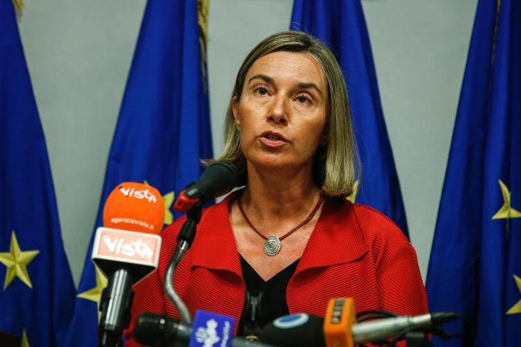 Mogherini in Rome reacts to US president declaration on Nuclear Deal