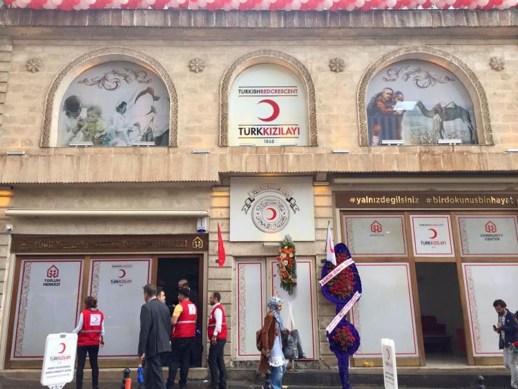 EU-funded Turkish Red Crescent community centre opens in Mardin