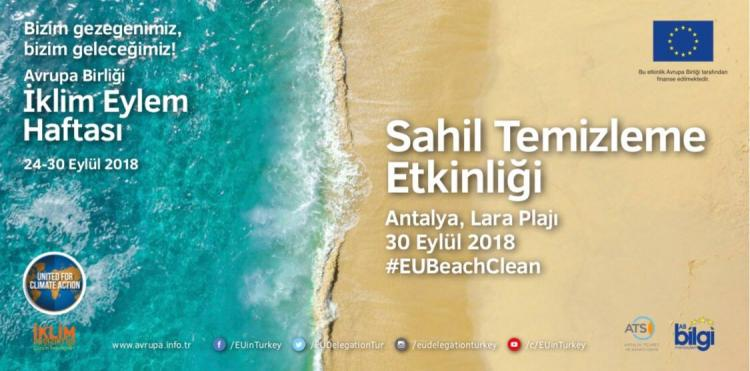 Join Us For The EU Beach Clean-Up In Antalya!