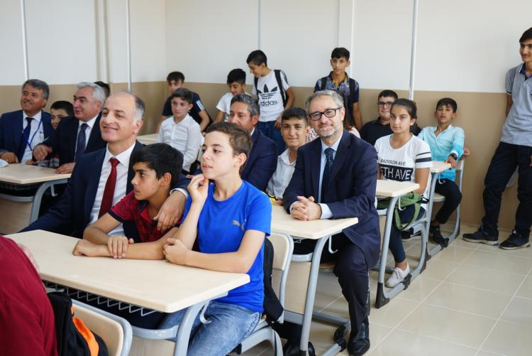 The EU Celebrates The New School Year Opening For Turkish And Syrian Children