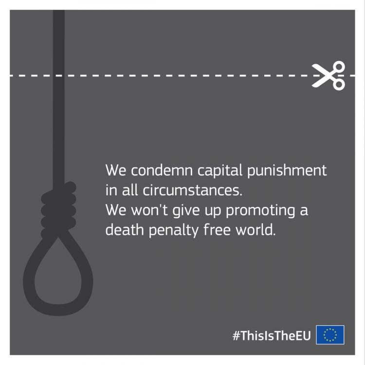 Joint Declaration by the European Union High Representative for Foreign Affairs and Security Policy, and the Secretary General of the Council of Europe on the European and World Day against the Death Penalty, 10 October 2018