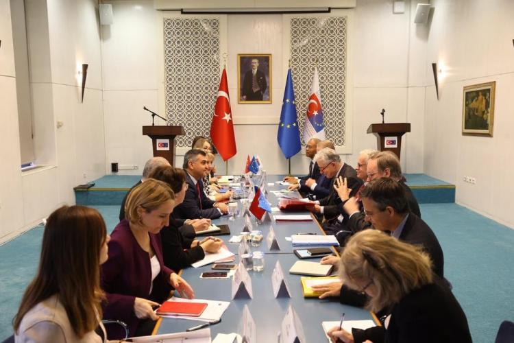 Turkey-EU Political Dialogue Meeting Held on Political Directors Level