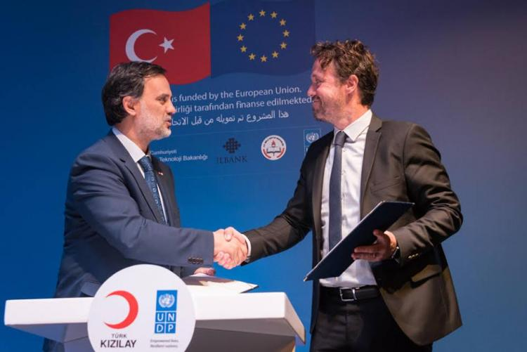 Launch event of the 'Turkey Resilience Project in Response to the Syria Crisis' project