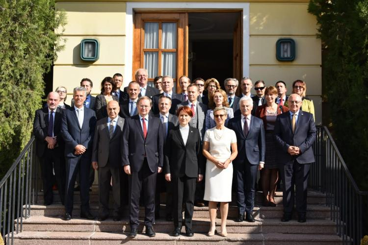 Meeting of the EU Ambassadors with the President of İyi Party Meral Akşener