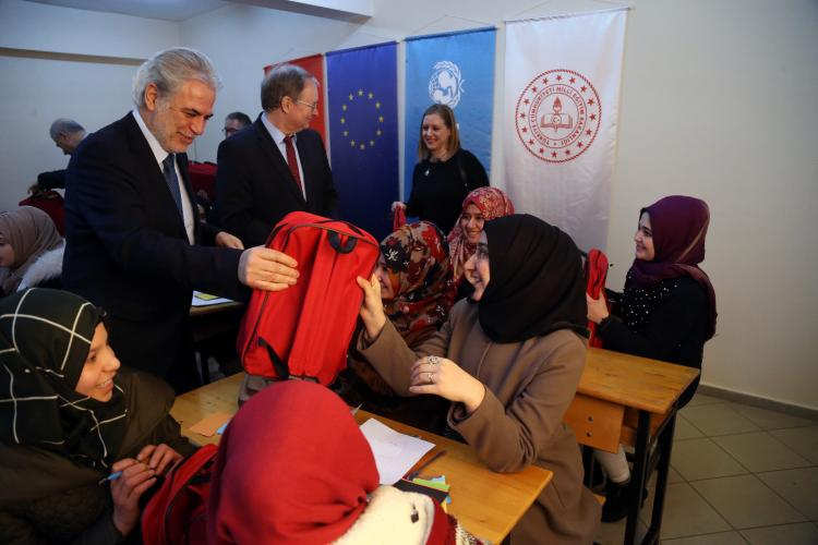 Commissioner for Humanitarian Aid and Crisis Management Christos Stylianides visited Ankara