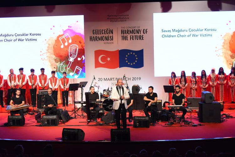 "The Concert of ""Harmony of the Future"" Held in İstanbul"