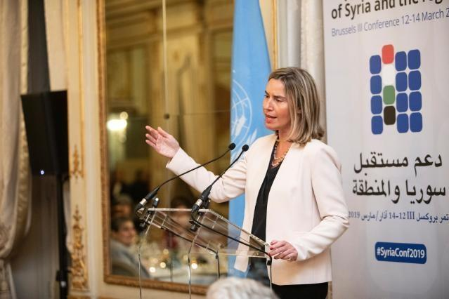 "Remarks by HR/VP Mogherini at the Days of Dialogue at the Third Brussels Conference on ""Supporting the future of Syria and the region"""