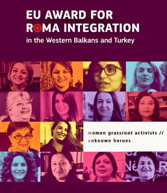 Winners of the 2019 Roma Award for the Western Balkans and Turkey announced
