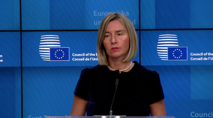 Remarks by High Representative/Vice-President Federica Mogherini following the Foreign Affairs Council