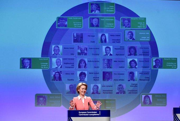 The von der Leyen Commission: for a Union that strives for more