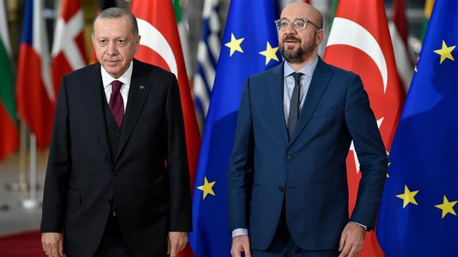 Remarks by President Charles Michel after the meeting with President of Turkey Recep Tayyip Erdoğan in Brussels